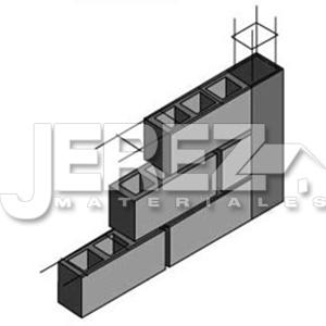 escalerilla de acero