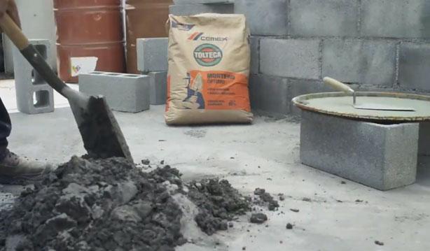 Cemento Mortero-Cemex