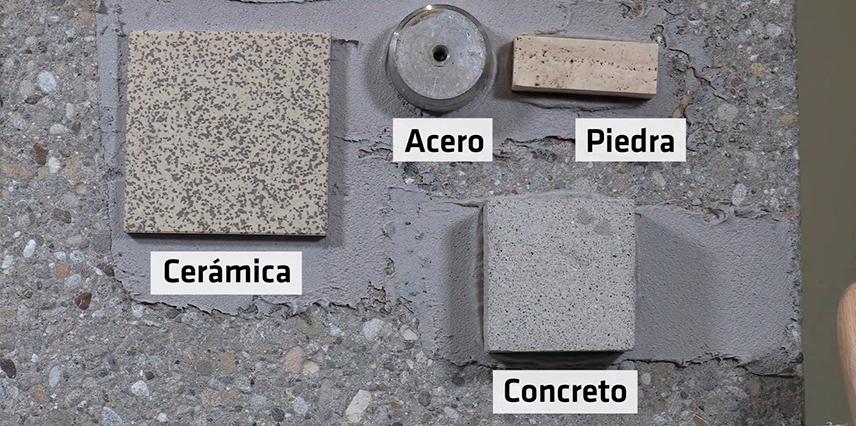 Ejemplo de materiales sikadur