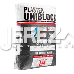 Plaster uniblock
