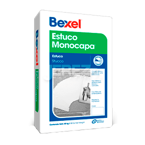 Estuco-Monocapa