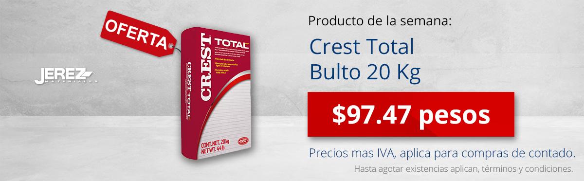 Promocion de la semana crest total Jerez