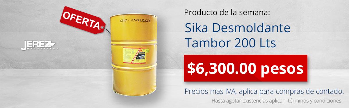 Promocion de la semana sika Desmoldante Jerez