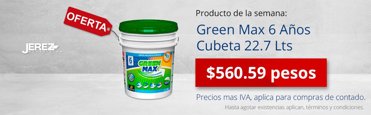 Promocion de la semana Green max Jerez