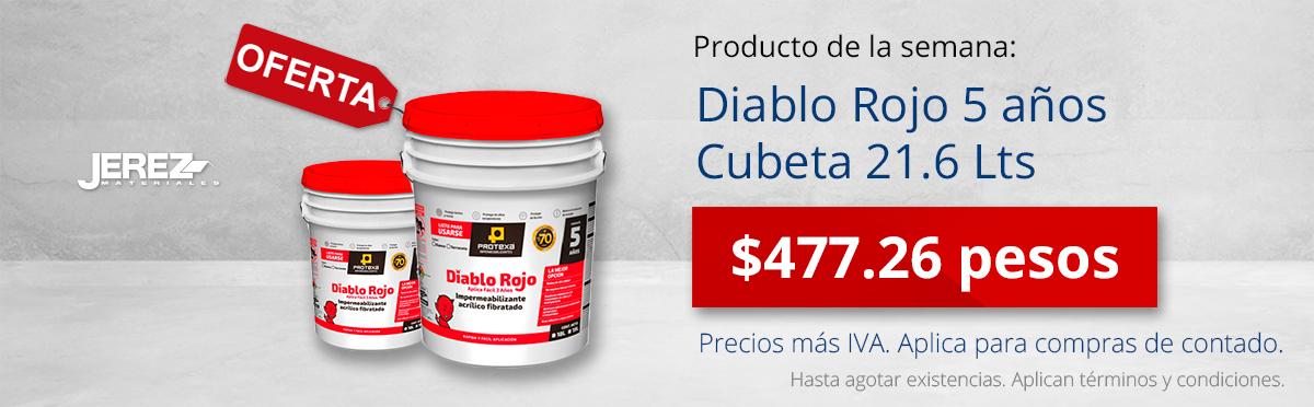 Promocion de la semana Diablo Rojo 5 años Jerez