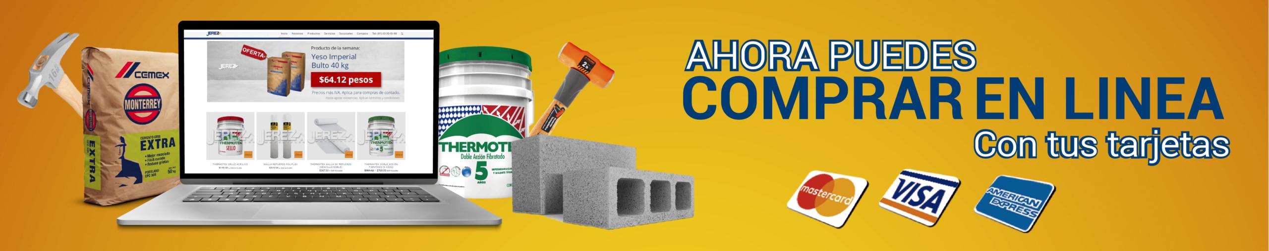 Compra en linea materiales de construcción