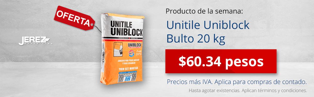 Promocion de la semana Unitile uniblock Jerez